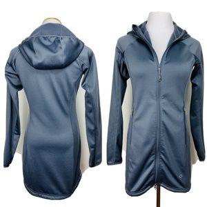 Mountain Hardwear Full Zip Activewear Fleece Hood